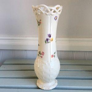 Lenox Posy Basket Bud Vase